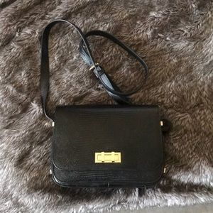 Black crocodile Henri Bendel Cross Body